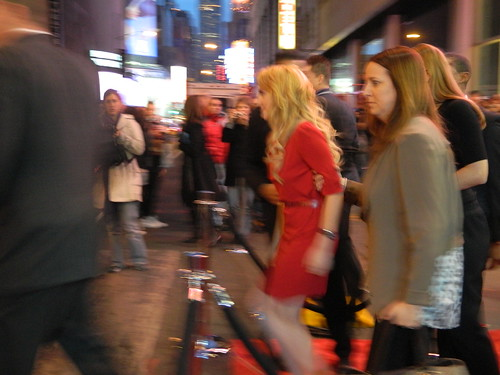 Evanna Lynch Evanna Lynch crosses the street to meet fans at the grand opening of Harry Potter: The Exhibition women plus clothing