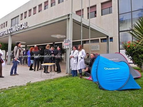 Concentración Auxiliares de Enfermería Melilla