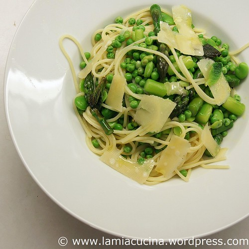 Spaghetti mit frischem Grün 0_2011 04 07_3193