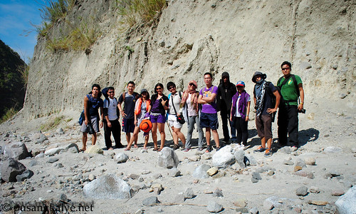 MOUNT PINATUBO hikers