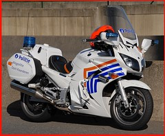 Belgian traffic police. (NikonDirk) Tags: yamaha wegpolitie politie police nikondirk bike motor belgie nikon cop cops hulpverlening dutch holland netherlands fjr trafficpolice federale traffic verkeers verkeerspolitie belgische belgian motorbike motorcycle cycle foto verkeer wpr commercial vehicle inspection safety