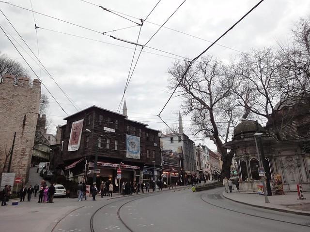 Rua Hadavendigar em Istambul