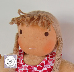 Custom-for-Meg-girl-close (Polar Bear Creations Dolls) Tags: doll natural handmade puppe steiner waldorfdoll firstdoll waldorfpuppe waldorfinspired cuddledoll schmusepuppe erstlingspuppe