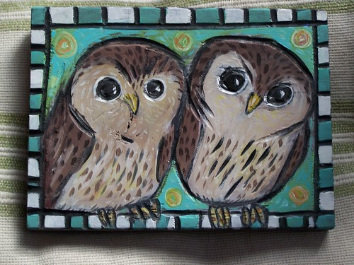 owls by Emilyannamarie