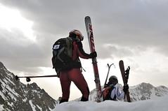 _DSC3982(2) (sr.u) Tags: barcelona ski race backcountry catalunya montaa aran touring pyrenees muntanya coll pirineo uec cursa 2011 aiguestortes xemeneies bassiero aneu