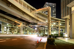 Tanimachi Junction - 07 (Kabacchi) Tags: night tokyo highway  nightview expressway  interchange      jct tanimachijunction ~tanimachijunction~