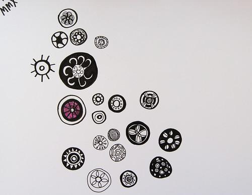 B/w doodles