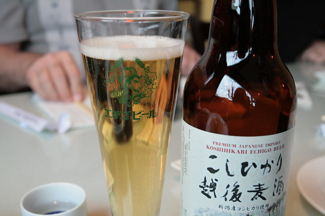 japanese beer and sake