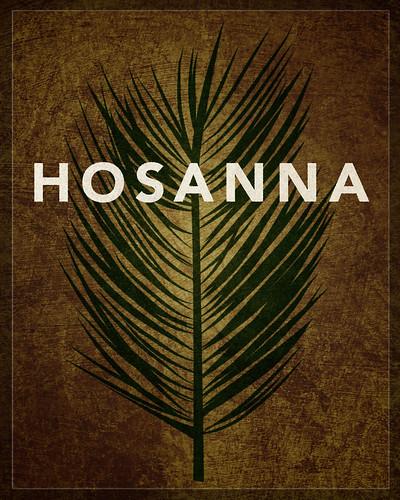 Word: Crucifixion (Hosanna)