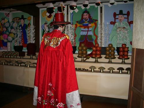Shaman at Lotte World Folk Museum