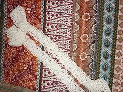 Индонезийский лен и кружево
