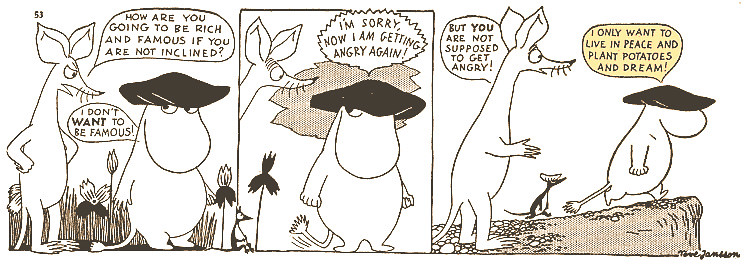 moomin strip