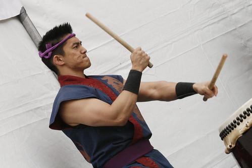 SF Taiko Dojo Drummer