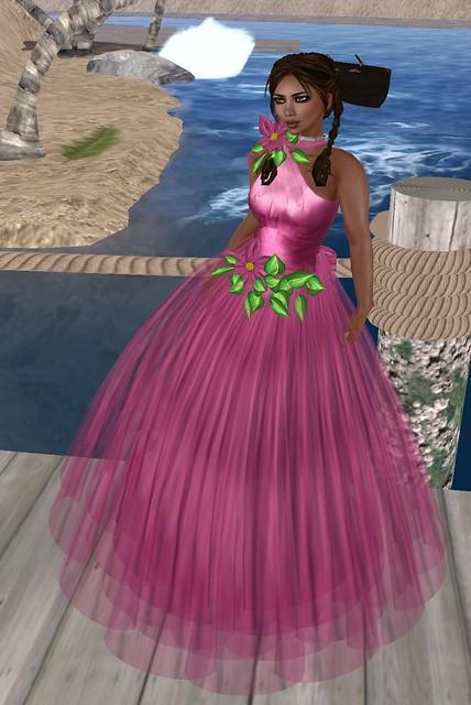 55L Lil's Fleur pink April 14 2011