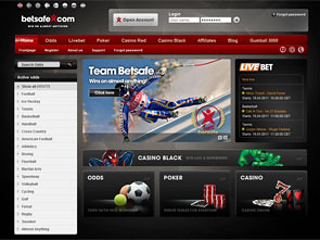 BetSafe Sportsbook Home