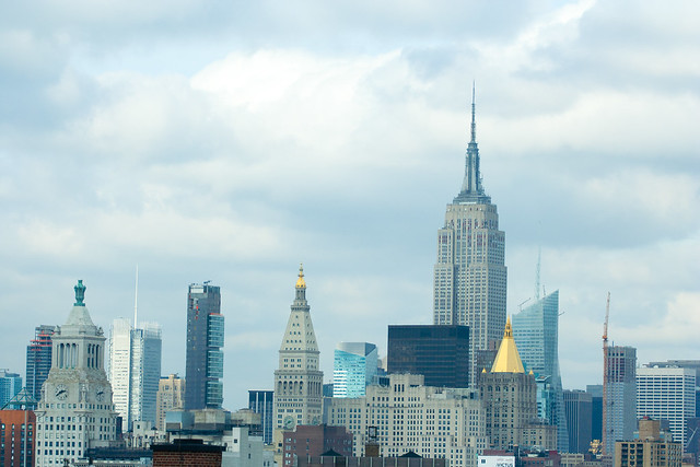 Manhattan skyline 100mm