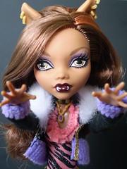 She Wants You (Sasha's Attic) Tags: macro girl fashion monster closeup werewolf high wolf doll daughter teen clawdeen