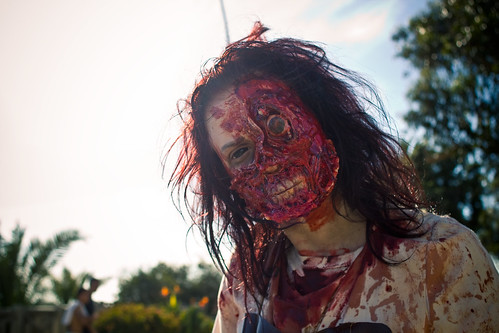 gruesome zombie