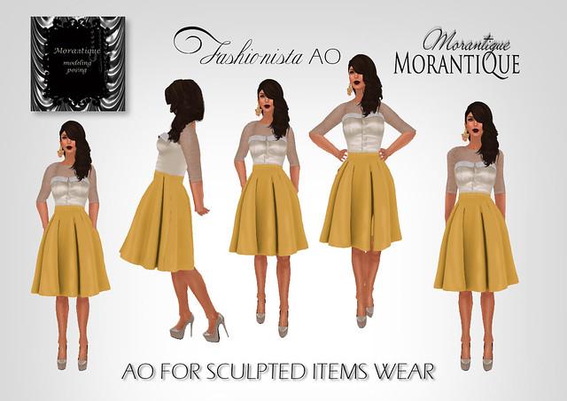 fashionistaAOad - model Rhonda Molinaro