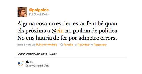 Twitter CiU