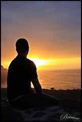 Nostalgia (Betruxi) Tags: sunset sol contraluz de tenerife puesta mirador