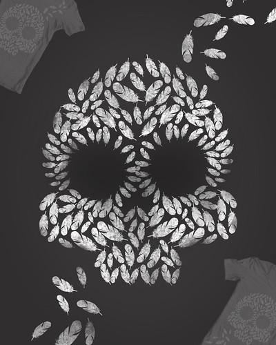 Feather Skullage by [rich]