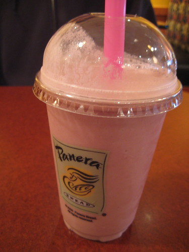 Panera Low Fat Smoothie 22