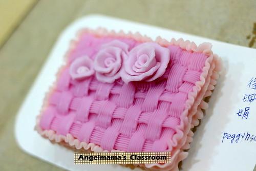 天使媽媽蛋糕皂教學 001