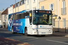 First Volvo B7R 20307.WX05OZF - Bristol (dwb transport photos) Tags: bristol volvo coach airport bedminster link express fits plaxton 20307 wx05ozf