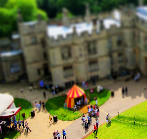 Miniature Warwick Castle