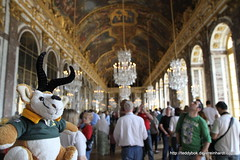 Hall of mirrors (Dave Reinhardt) Tags: france versailles hallofmirrors teddybok