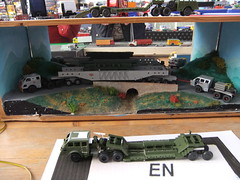 """DIORAMA 1/87 """"Meeting Auto Camions"""" (hayes69) Tags: truck exposition camion kit 187 diorama maquette"""