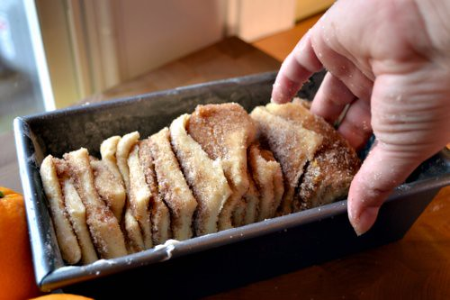 Orange Pull-Apart Bread