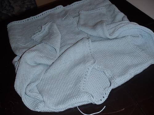 Finished Cotton Cardi!