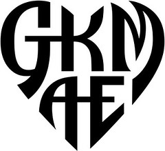 """GKMAE"" Heart Design"