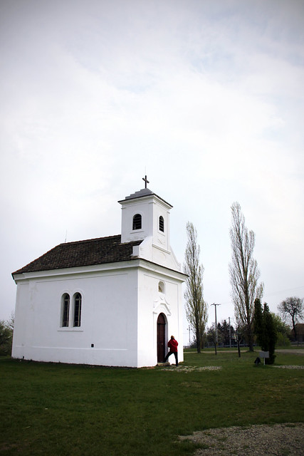 Votive chapel from Jánossomorja build in 1842