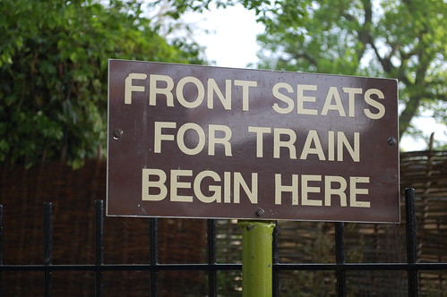 Front Seats For Train Begin Here