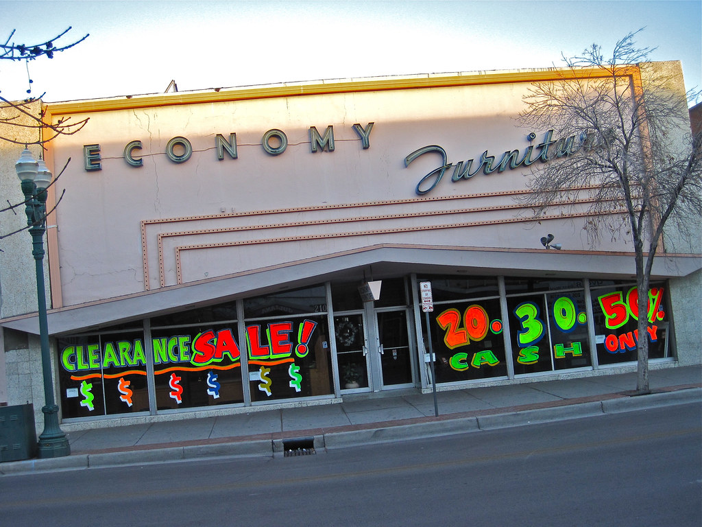 Economy Furniture, El Paso, TX
