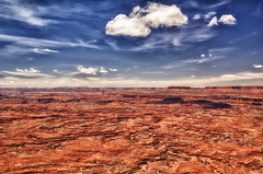 MOAB - CANYONLANDS NAT'L PARK (WNDLST) Tags: utah canyonlandsnationalpark southernutah hdr needlesoverlook