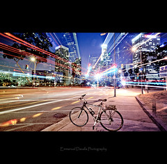 Believe (Emmanuel_D.Photography) Tags: california road bike bicycle trek canon la losangeles long exposure downtown gray read hollywood frame bible 5d emmanuel lighttrail mark2 7000 5dm2 showgoeson dasalla