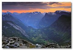 Geiranger From Dalsnibba Peak (Seung Kye Lee - Fine Art Landscape Photography) Tags: canon5d canonef1740mmf4lusm møreogromsdal snowcappedpeaks travelphotos unescoworldheritagesites dalsnibba flickrsbest specland specnature geirangerfjorden leefilters diamondclassphotographer flickrdiamond norwegianfjords mountainphotography wwwleeseungkyecom singhrayfilters loftyviews norwaylandscapes fjordandmountains touristattractionsnorway geirangerlandskapsbilder norsketuristattraksjoner