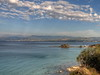 Paphos, Cyprus (Mike G. K.) Tags: sea sky seascape mountains clouds nikon rocks raw cyprus hdr paphos photomatix 1exp bathsofaphrodite d5000 mikegk:gettyimages=submitted