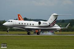 N498QS - 1398 - Netjets - Gulfstream IV SP - Luton - 100607 - Steven Gray - IMG_3321