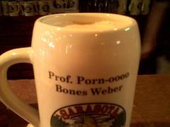 Prof's Beer Mug