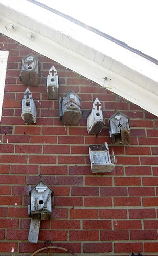 Bird houses--Heider's Country Store