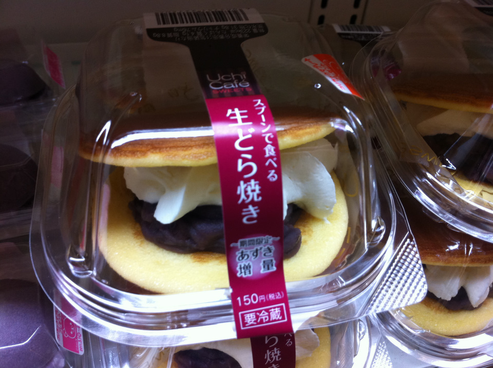dorayaki with cream