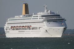 ORIANA (John Ambler) Tags: cruise sea water sign port docks call ship solent po southampton imo oriana mmsi zcdu9 9050137 310529000