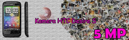 Banner Kamera HTC Desire S