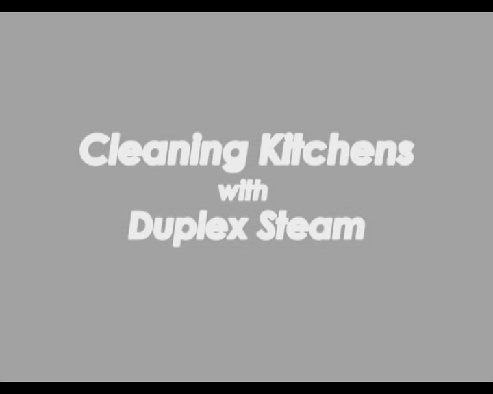 Cleaning Kitchens with Duplex Steam