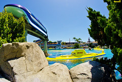Disneyland's Submarine Lagoon (Tom.Bricker) Tags: disney fisheye disneyworld mickeymouse waltdisneyworld waltdisney disneyphotos disneyphotography wdwfigment tombricker disneyfisheye